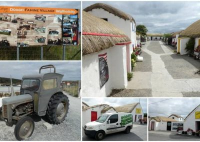 The Famine Village on the Isle of Doagh