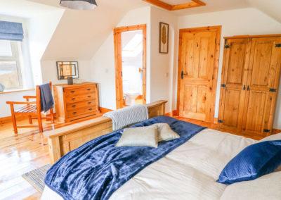 Upper floor bedroom of Lough View at Glen - Carrigart