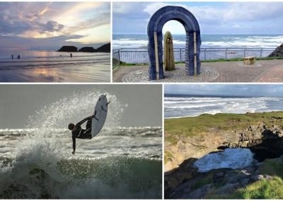 Budoran is one of the top surfing resorts in Ireland
