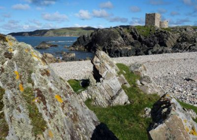 Carraigabraghy-Castle-on-The-Isle-of-Doagh-Inishowen