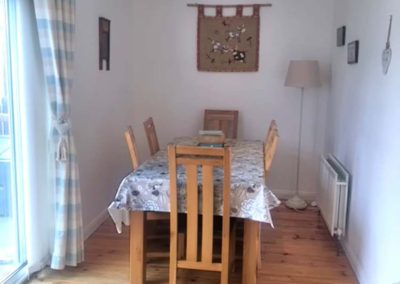 Coral Cottage Dunfanaghy - dining area