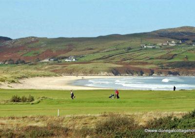 Dunfanaghy Golf Club and Killahoey Beach