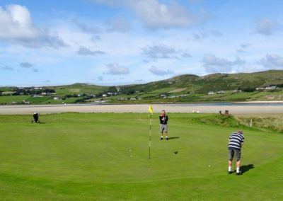 Dunfanaghy Golf Club is just 1km away