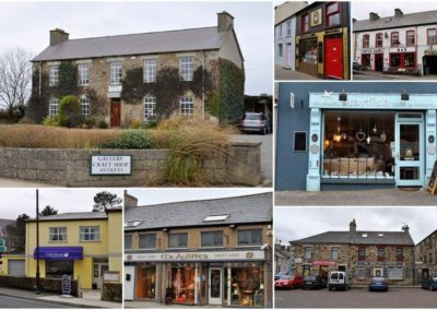 Dunfanaghy is well served with shops, pubs art galleries and craft outlets