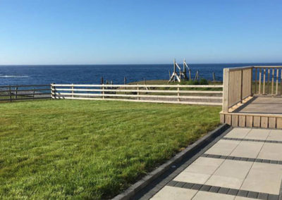 View from the deck area of Pebble Beach Cottage