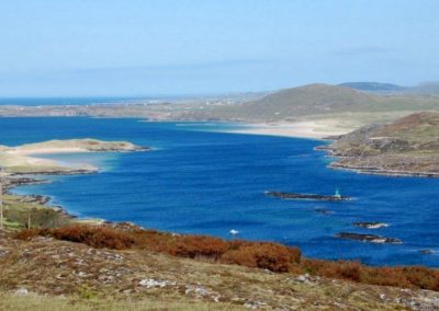 A view of Mulroy Bay from the Atlantic Drive