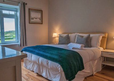 The Bungalow Sandhill - one of the king size bedrooms
