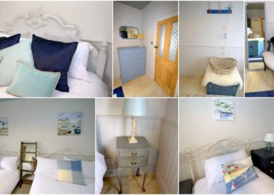 The bedrooms are tastefully furnished and decorated