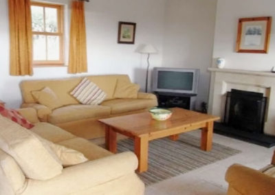 Living room of Whin Cottage