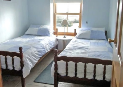 Twin bedroom - Whin Cottage