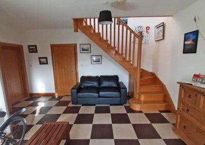 Lag Dubh Cottage - Cruit Island - interior