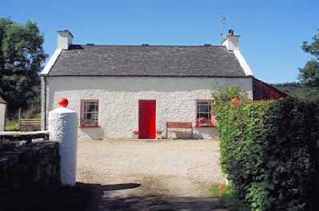 Smiths Traditional Cottage Kilmacrennan Donegal Ireland