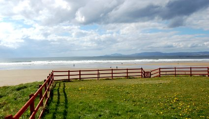 Sea Front View Holiday Cottage Rossnowlagh Donegal Ireland
